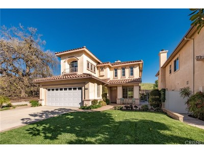 Simi Valley Single Family Home Active Under Contract: 2664 Blossom Street