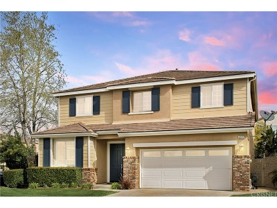 Saugus Single Family Home Active Under Contract: 22177 Summer Breeze Court