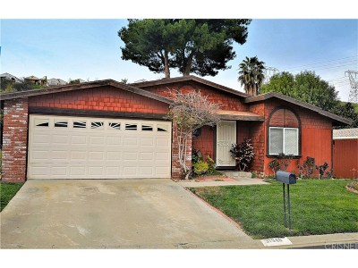 Castaic Single Family Home Active Under Contract: 31946 Marcasite Lane