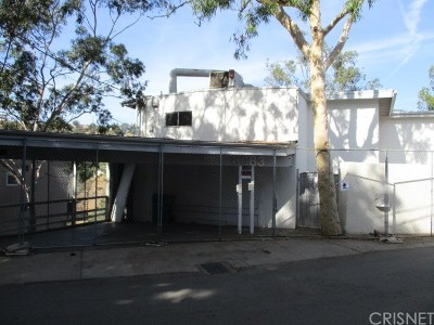 Los Angeles County Single Family Home Active Under Contract: 8383 Grand View Drive