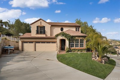Castaic Single Family Home For Sale: 30321 June Rose Court