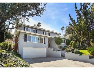 Sherman Oaks Single Family Home Active Under Contract: 15204 Valley Vista Boulevard