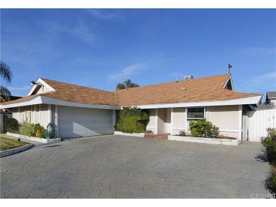 Saugus Single Family Home For Sale: 27810 Larkmain Drive
