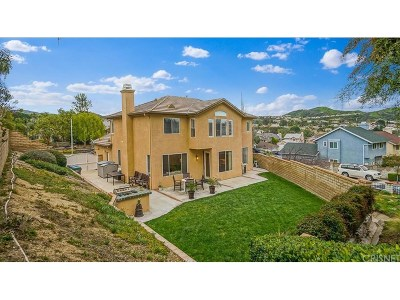 Saugus Single Family Home For Sale: 22830 Boxwood Lane