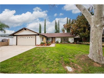 Simi Valley Single Family Home For Sale: 2367 Saint Clair Avenue