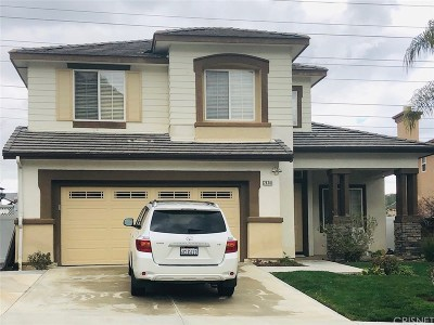 Santa Clarita, Canyon Country, Newhall, Saugus, Valencia, Castaic, Stevenson Ranch, Val Verde Single Family Home For Sale: 28341 Brookview