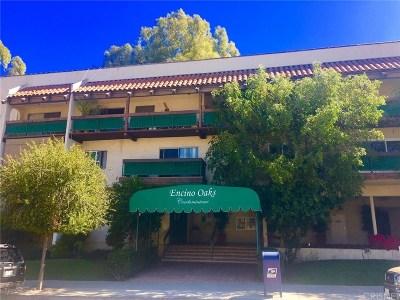 Encino Condo/Townhouse For Sale: 5460 White Oak Avenue #K101