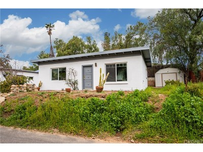Simi Valley Single Family Home Active Under Contract: 5935 Oak Knolls Road