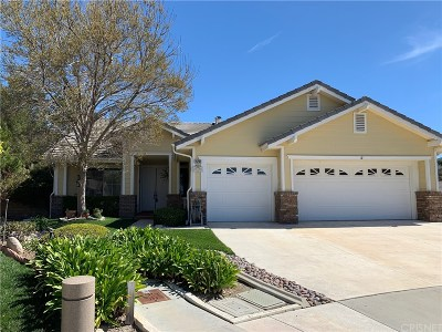 Canyon Country Single Family Home Active Under Contract: 14201 Everglades Court