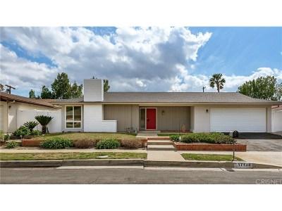 Granada Hills Single Family Home For Sale: 17138 Lorillard Street