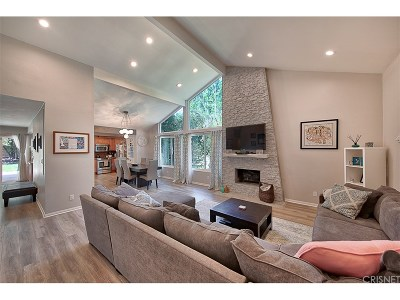 Westlake Village Single Family Home For Sale: 987 Triunfo Canyon Road