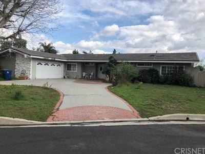 Granada Hills Single Family Home Active Under Contract: 11542 Encino Avenue