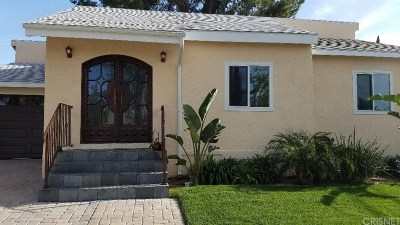 Encino Single Family Home For Sale: 17512 Emelita Street