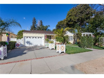 Burbank CA Single Family Home Active Under Contract: $799,999