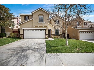 Saugus Single Family Home Active Under Contract: 28528 Silverking