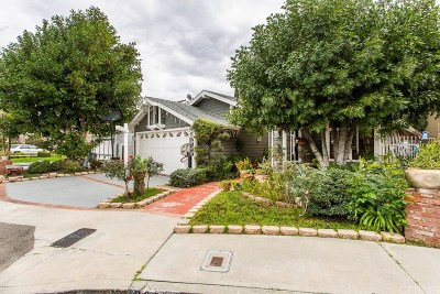 Van Nuys Single Family Home Active Under Contract: 14956 Lull Street