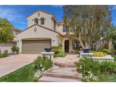 Stevenson Ranch Single Family Home Active Under Contract: 26231 Shakespeare Lane