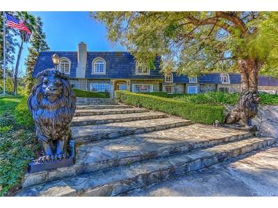 Encino Single Family Home For Sale: 4621 Balboa Avenue