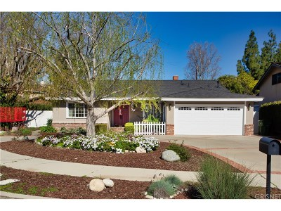Woodland Hills Single Family Home For Sale: 23327 Gonzales Drive