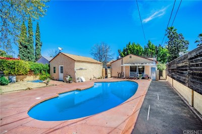 North Hollywood Single Family Home For Sale: 6257 Willowcrest Avenue