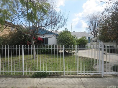 North Hollywood Single Family Home For Sale: 6662 Satsuma Avenue