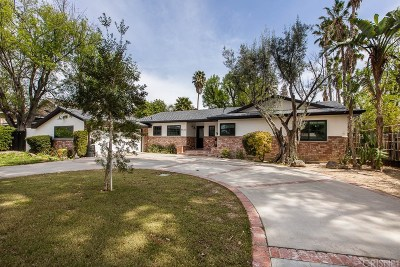 Winnetka Single Family Home Active Under Contract: 8620 Oakdale Avenue