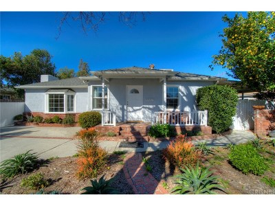 Winnetka Single Family Home For Sale: 8357 Hatillo Avenue