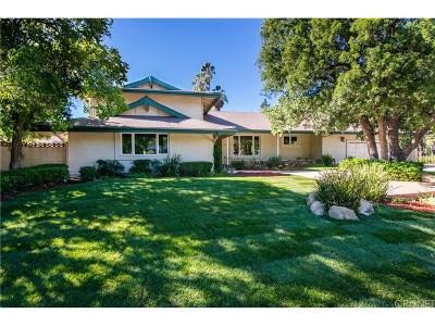 Granada Hills Single Family Home Active Under Contract: 16900 Pineridge Drive