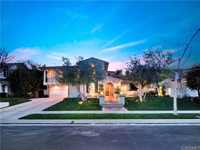 Calabasas CA Single Family Home For Sale: $2,775,000