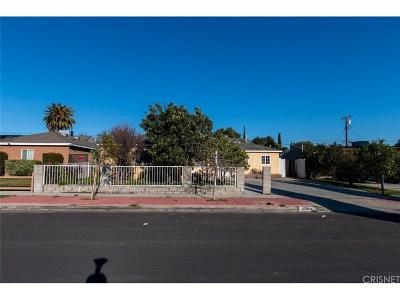 Reseda Single Family Home For Sale: 8060 McDermott Avenue