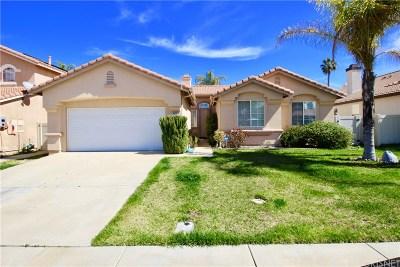 Riverside County Single Family Home For Sale: 24022 Colmar Lane
