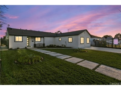 Reseda Single Family Home For Sale: 17748 Burton Street