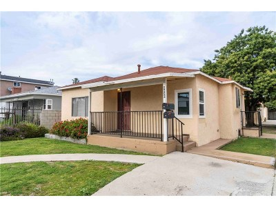 Los Angeles County Residential Income For Sale: 4830 South Slauson Avenue