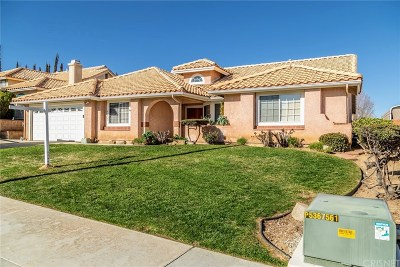 Quartz Hill Single Family Home For Sale: 41523 Prairievista Place