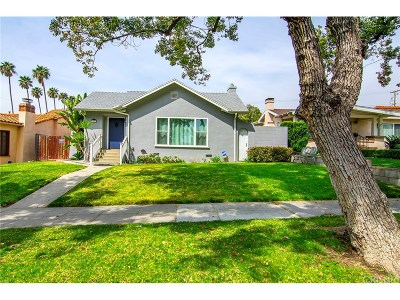 Burbank Single Family Home Active Under Contract: 1007 East Angeleno Avenue