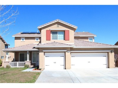 Lancaster Single Family Home For Sale: 3657 Pondera Street