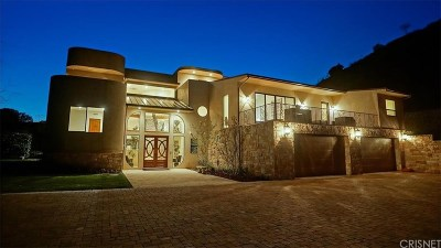 Calabasas Single Family Home For Sale: 24815 Mulholland Highway