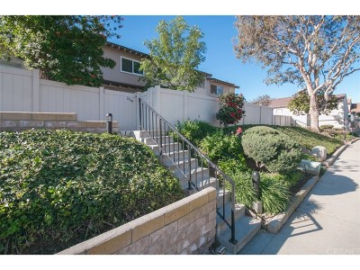 Newbury Park Condo/Townhouse For Sale: 1268 Ramona Drive