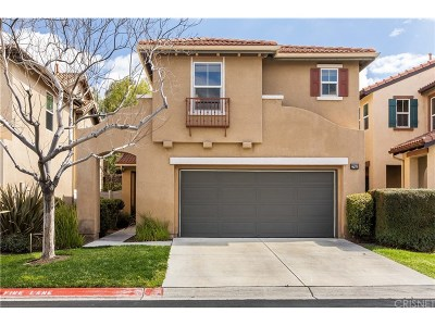 Canyon Country Condo/Townhouse Active Under Contract: 27652 Heather Ridge Way
