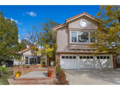 Calabasas Single Family Home For Sale: 22239 Via Leonardo