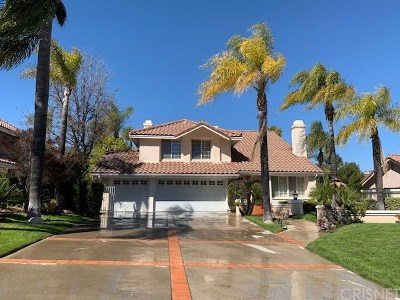 Calabasas Single Family Home For Sale: 24761 Via Pradera