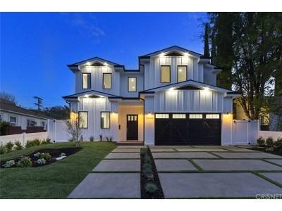 Encino Single Family Home For Sale: 18026 Valley Vista Boulevard