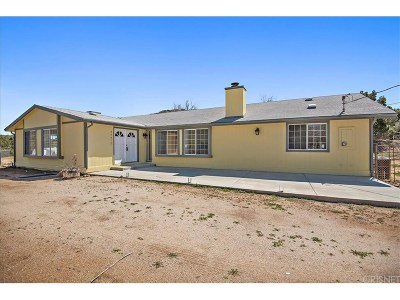 Los Angeles County Single Family Home For Sale: 34517 Peaceful Valley Road