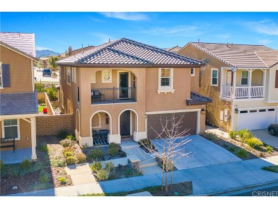 Saugus Single Family Home For Sale: 27312 Ellery Place