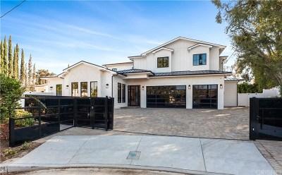 Encino Single Family Home For Sale: 5044 Andasol Avenue