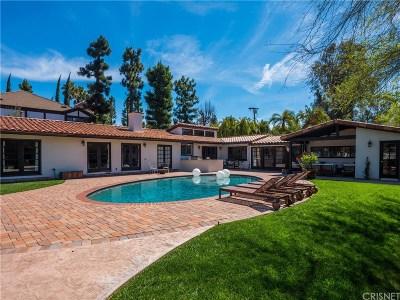 Tarzana Single Family Home For Sale: 18531 Wells Drive