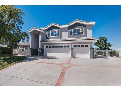 Granada Hills Single Family Home For Sale: 16847 Nanette Street
