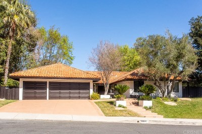 Tarzana Single Family Home For Sale: 19557 Braewood Drive