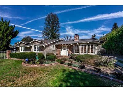 Woodland Hills Single Family Home For Sale: 5100 Bascule Avenue