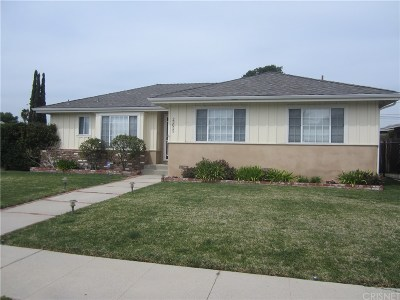 West Hills Single Family Home Active Under Contract: 23055 Mobile Street